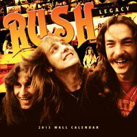 Rush 2013 Wall Calendar