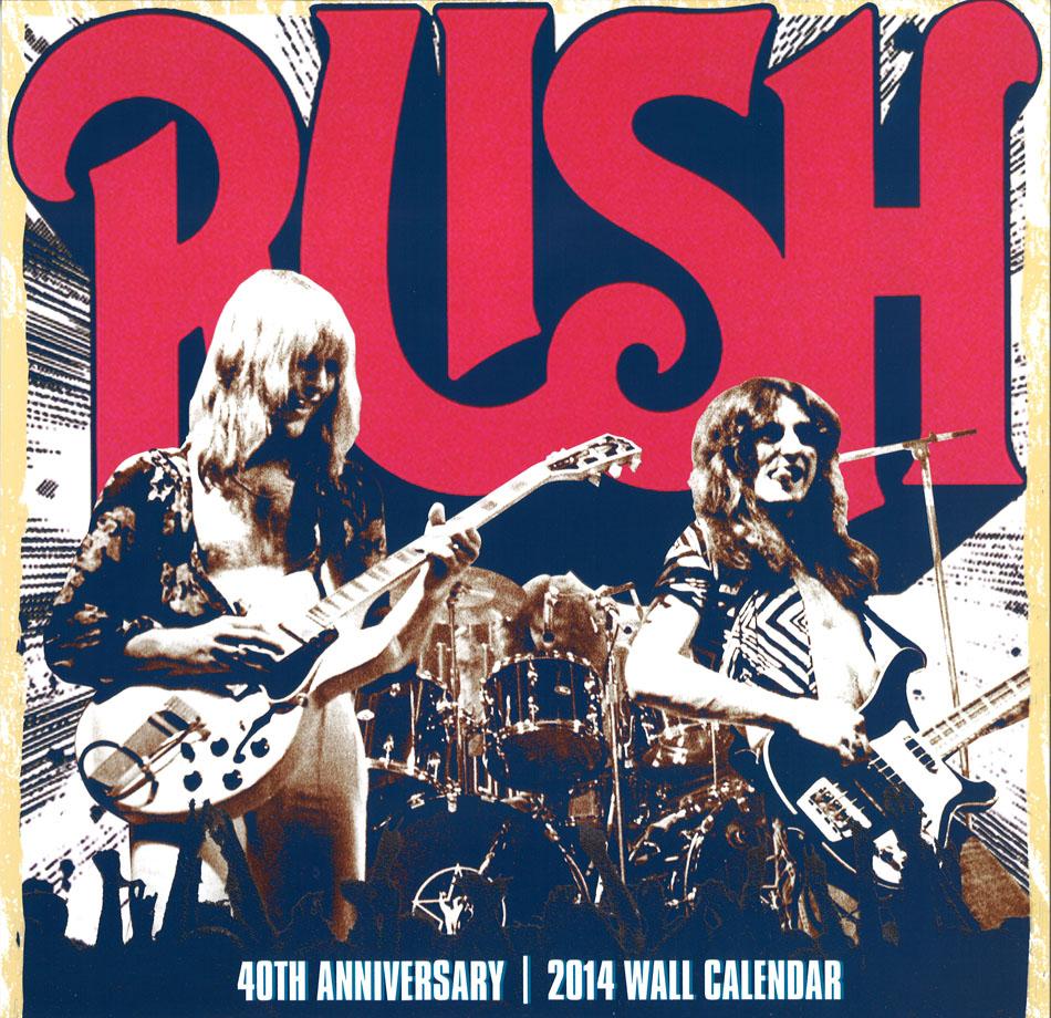 Rush 2014 Wall Calendar