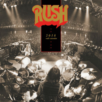 2018 Rush Wall Calendars Now Available for Pre-Order