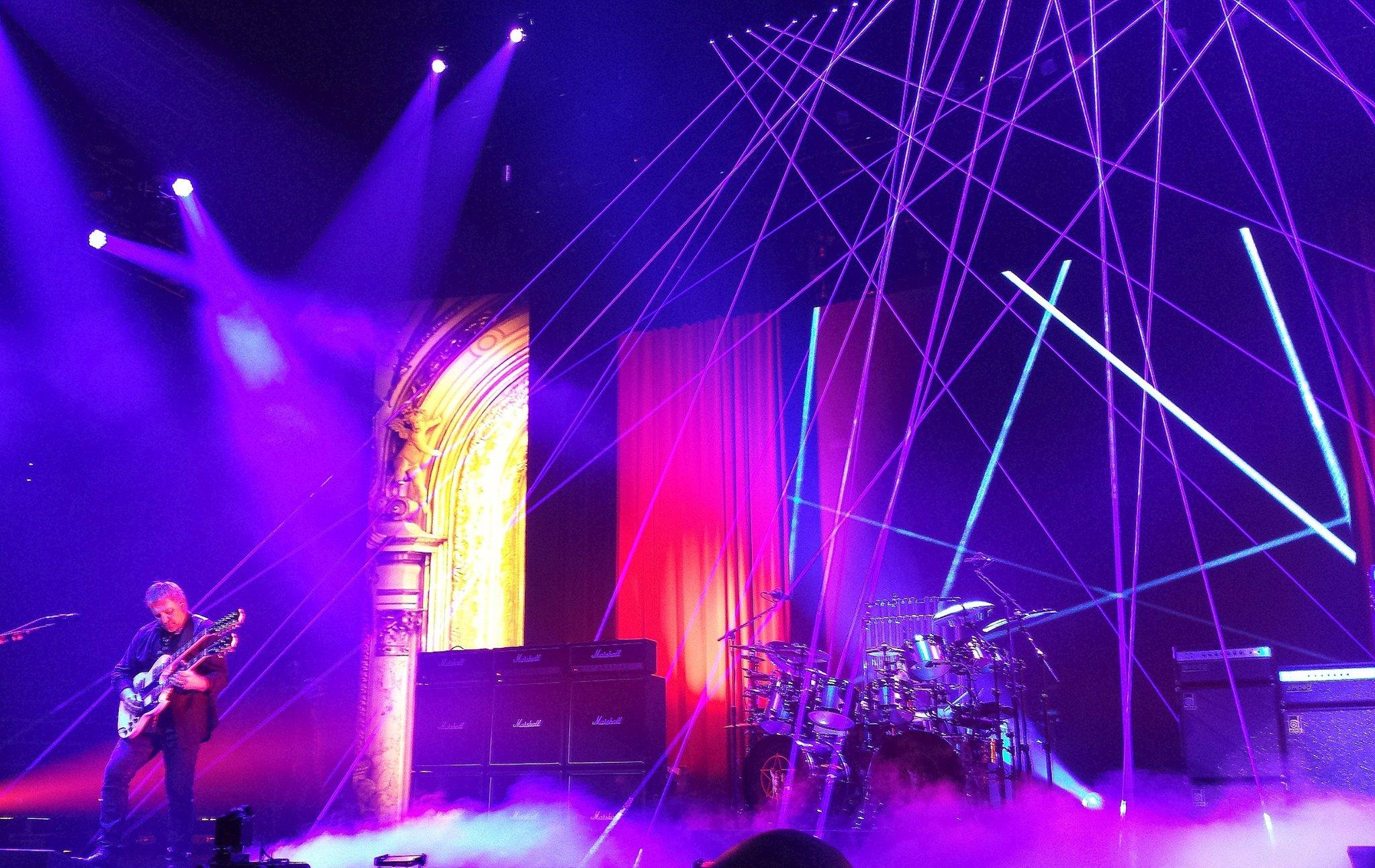 Rush Concert Wallpaper Rush 'r40 Live 40th