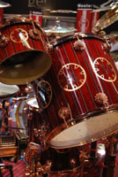 Neil Peart's Time Machine Drum Kit