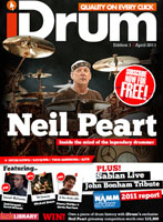 iDrum Magazine Issue #1 Featuring Neil Peart