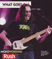 Mojo Magazine Interview with Geddy Lee