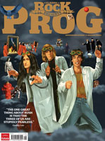 Rush in Classic Rock's PROG Magazine
