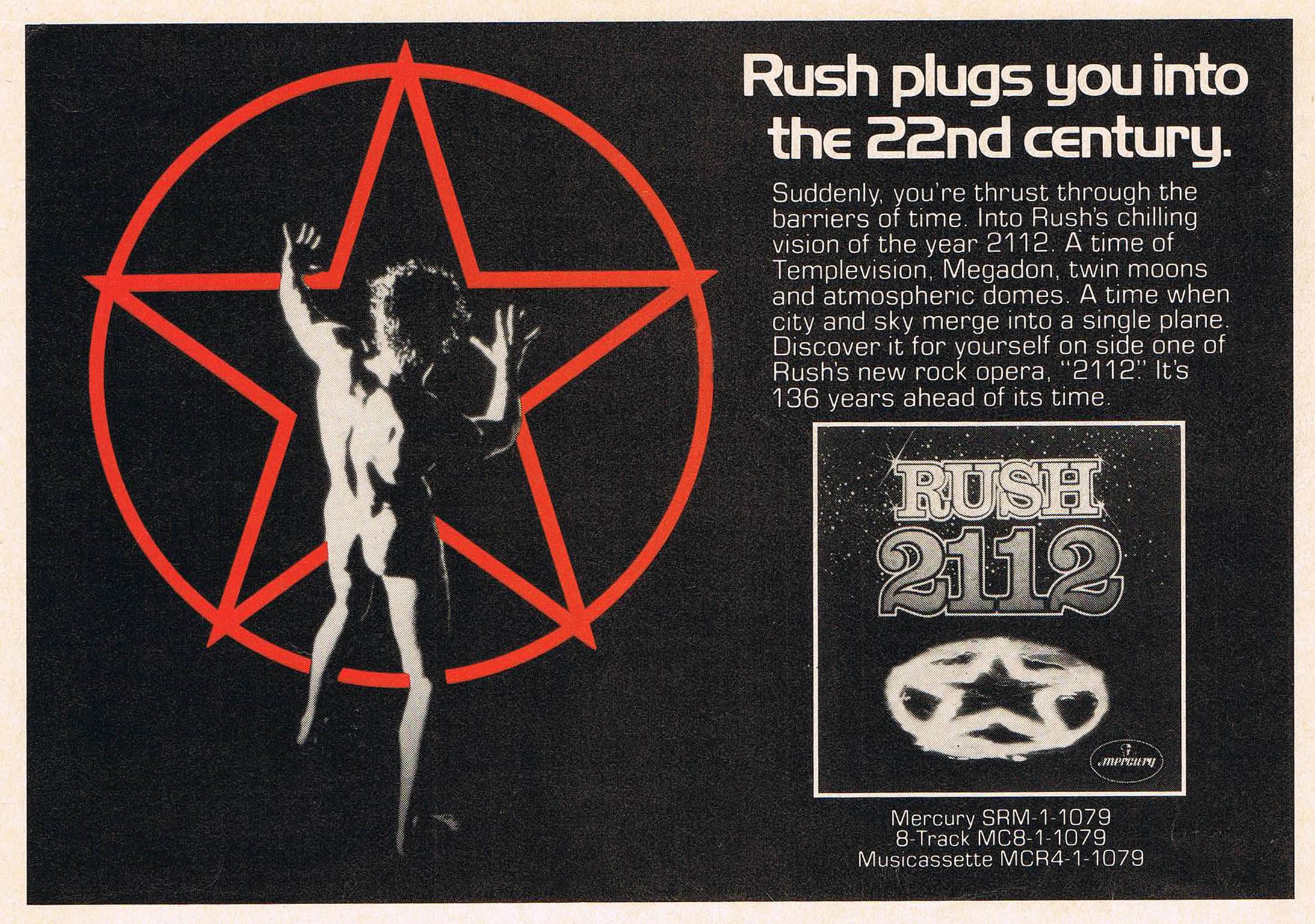Finding my RUSH ::: the topic June_8_1976_Circus_USA_2112_advert