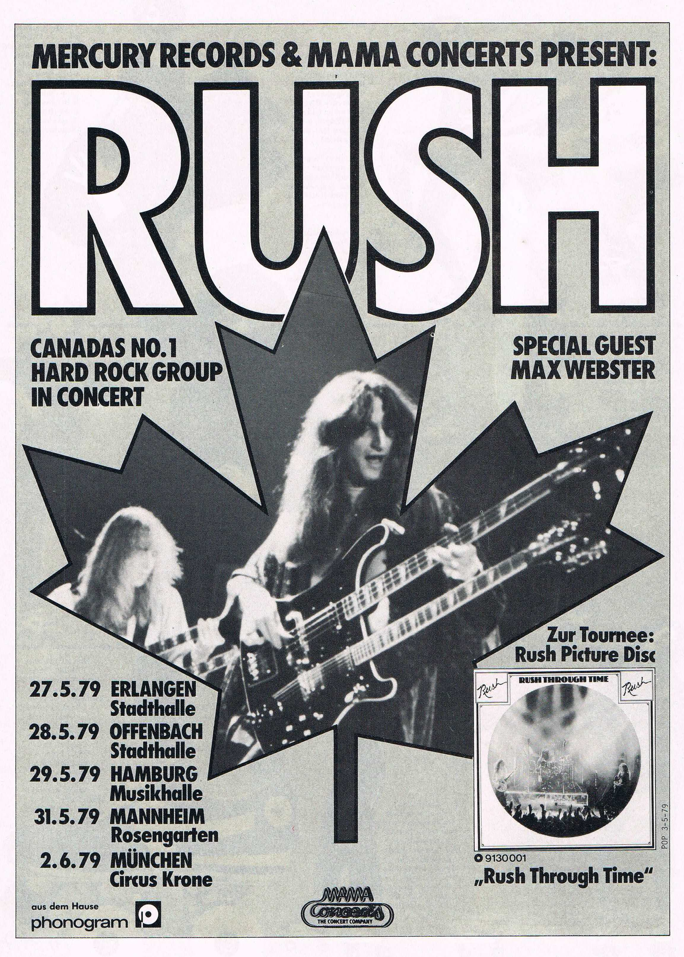 Rush Concert Wallpaper The European 'rush Through