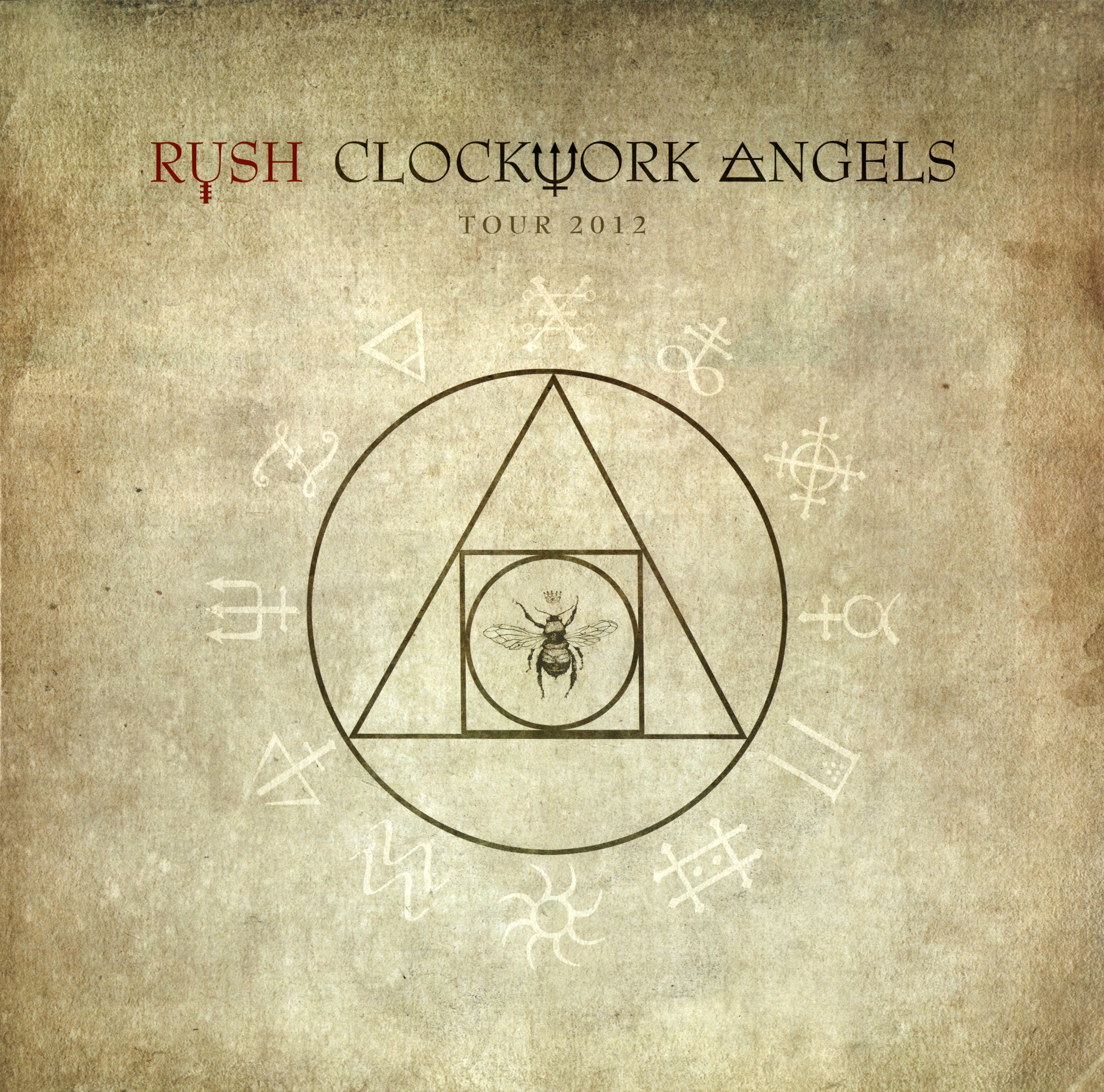 Rush: Clockwork Angels 2012 Tour Book - Artwork and ...   Rush Clockwork Angels Graphics