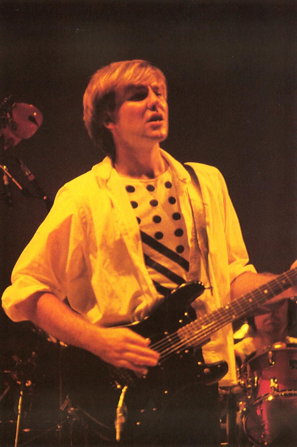 Rush: Grace Under Pressure Live: Tour 1984 - Album Artwork