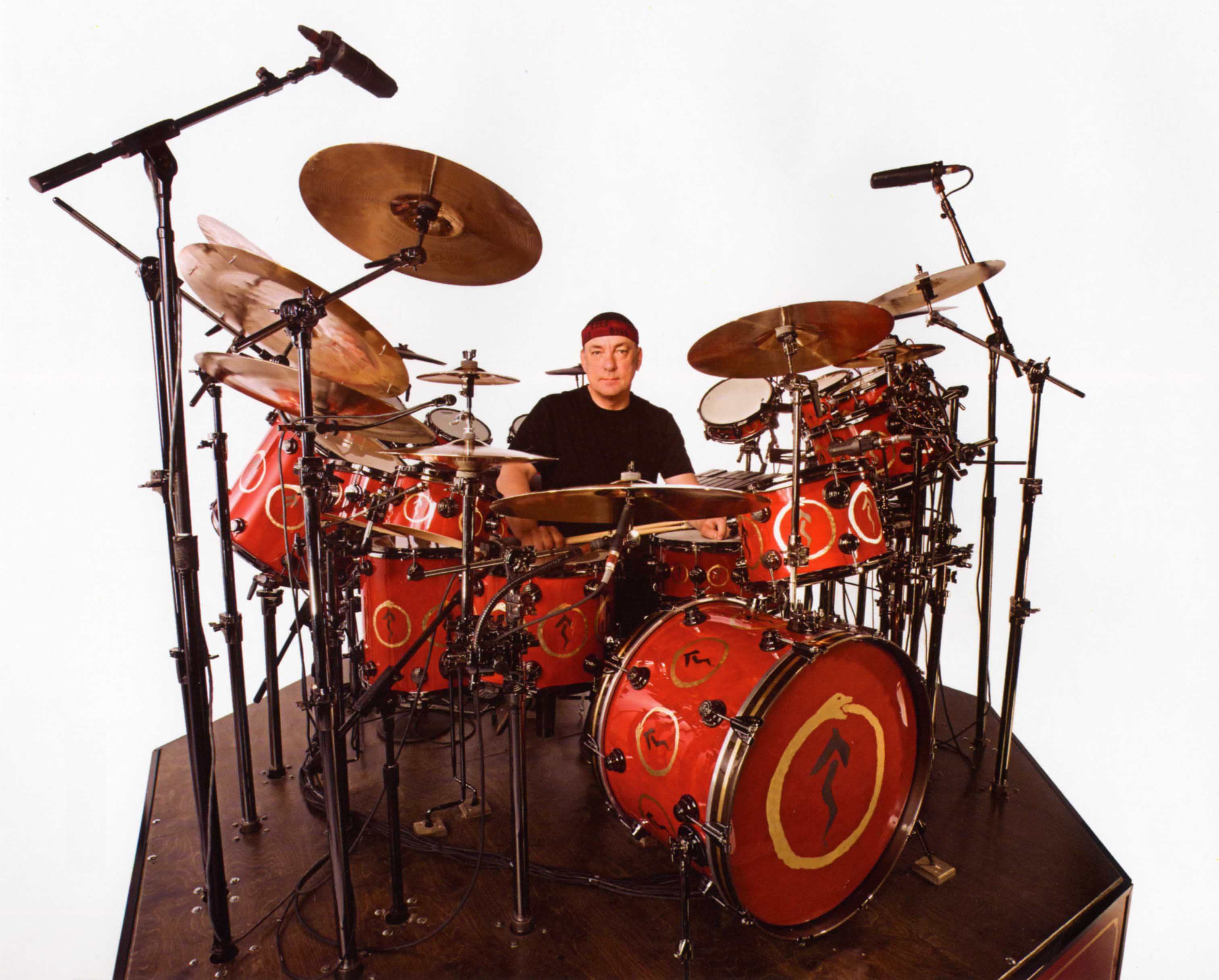 The Complete Kit Includes 12 Drums