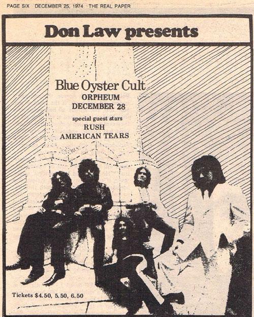 RAUDO: los discos de RUSH de peor a mejor - Página 2 1974-12-28