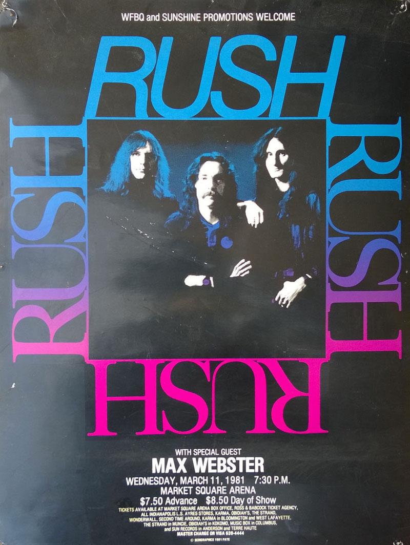 RAUDO: los discos de RUSH de peor a mejor - Página 13 1981-03-11
