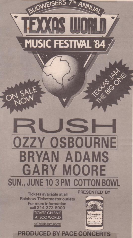 RAUDO: los discos de RUSH de peor a mejor - Página 5 1984-06-10