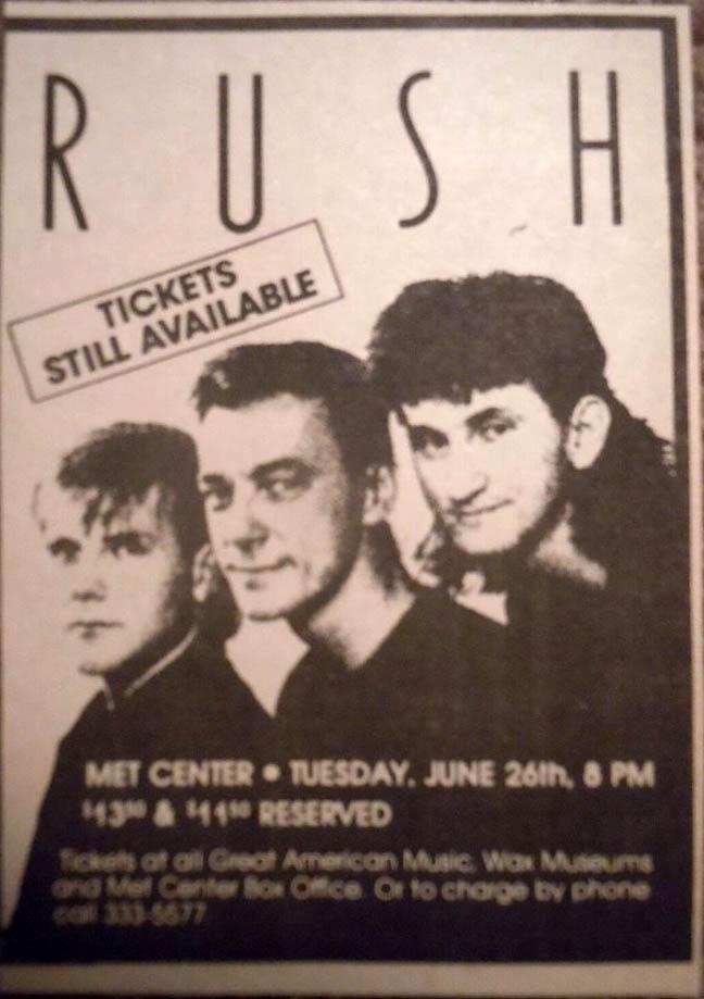 RAUDO: los discos de RUSH de peor a mejor - Página 5 1984-06-26