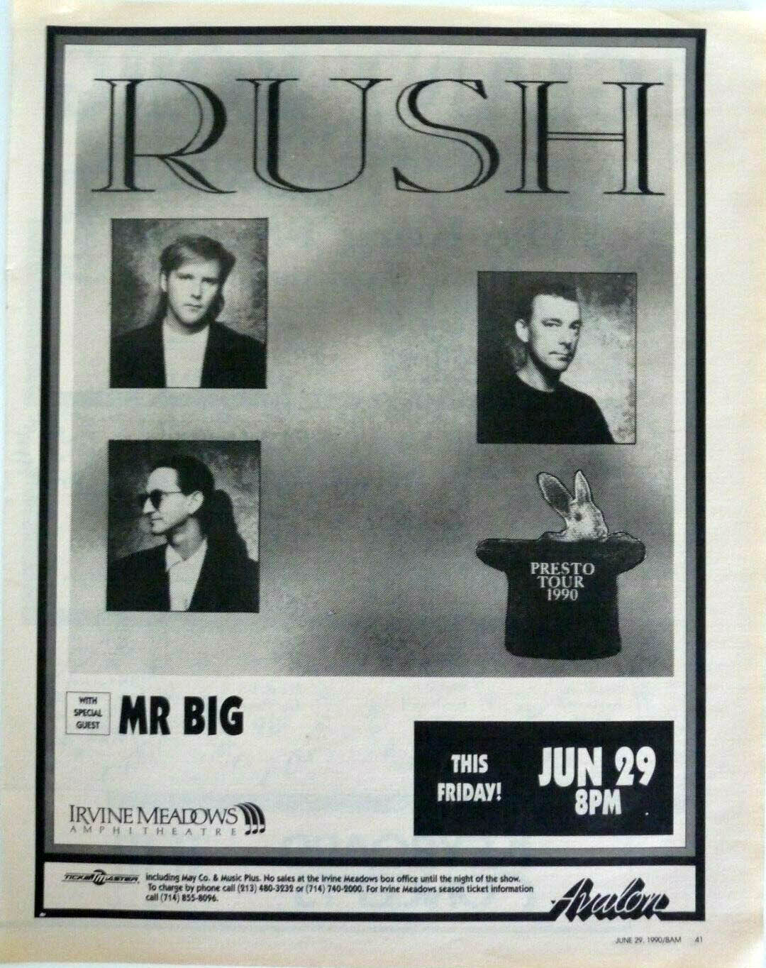 RAUDO: los discos de RUSH de peor a mejor - Página 3 1990-06-29