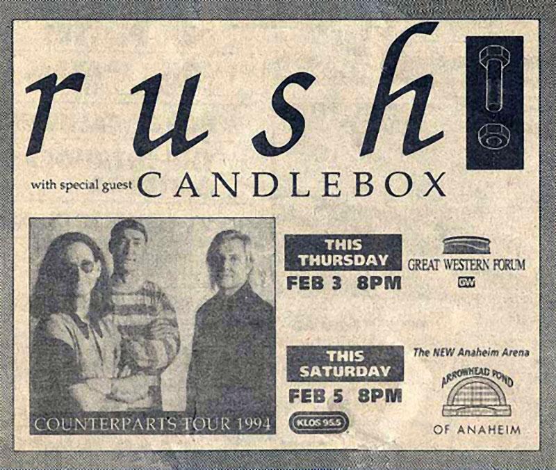 RAUDO: los discos de RUSH de peor a mejor - Página 3 1994-02-03