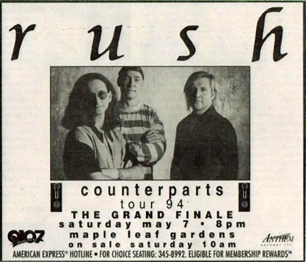 RAUDO: los discos de RUSH de peor a mejor - Página 3 1994-05-07-2
