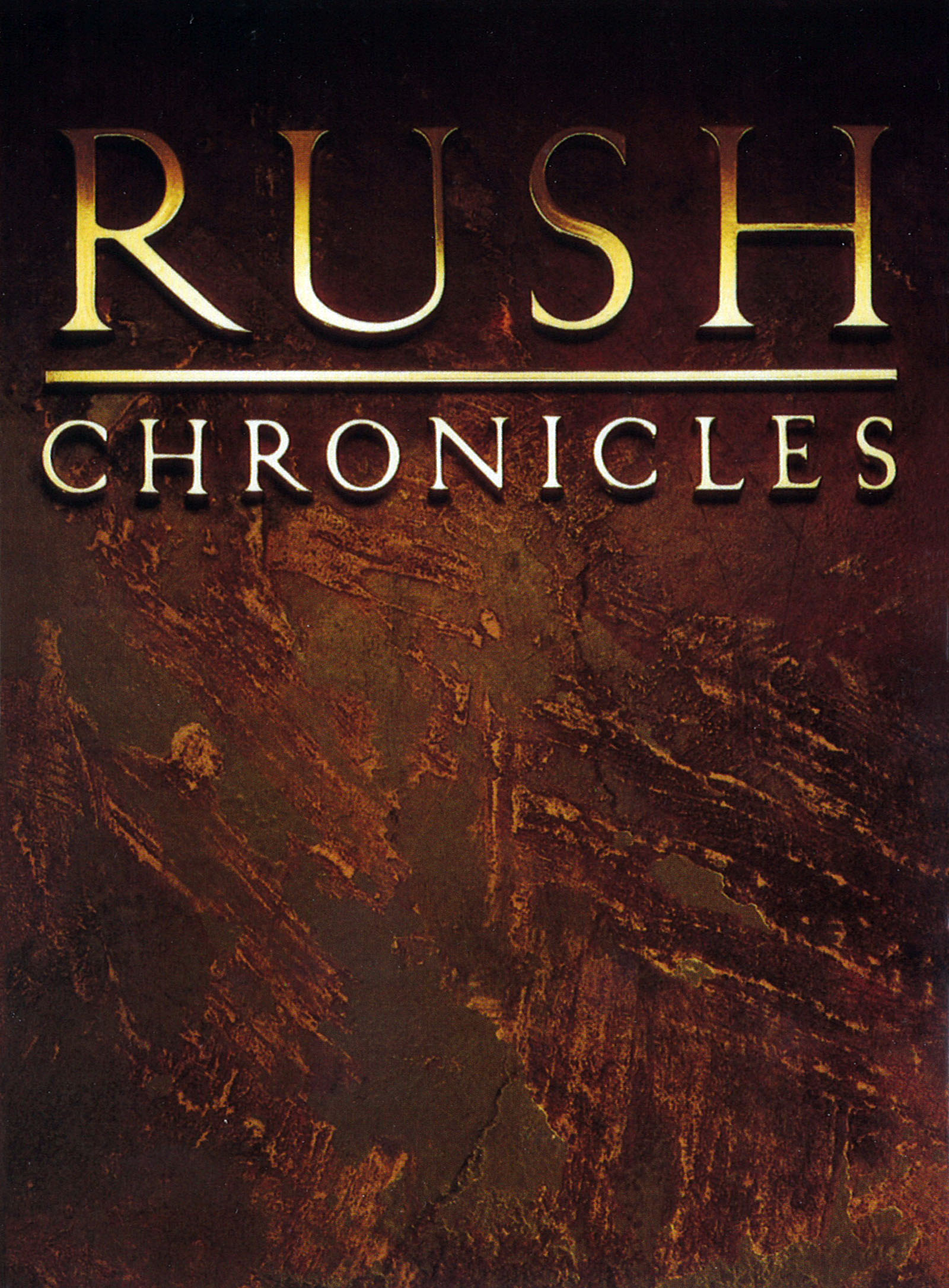 Rush: Chronicles Video Collection - Video Artwork