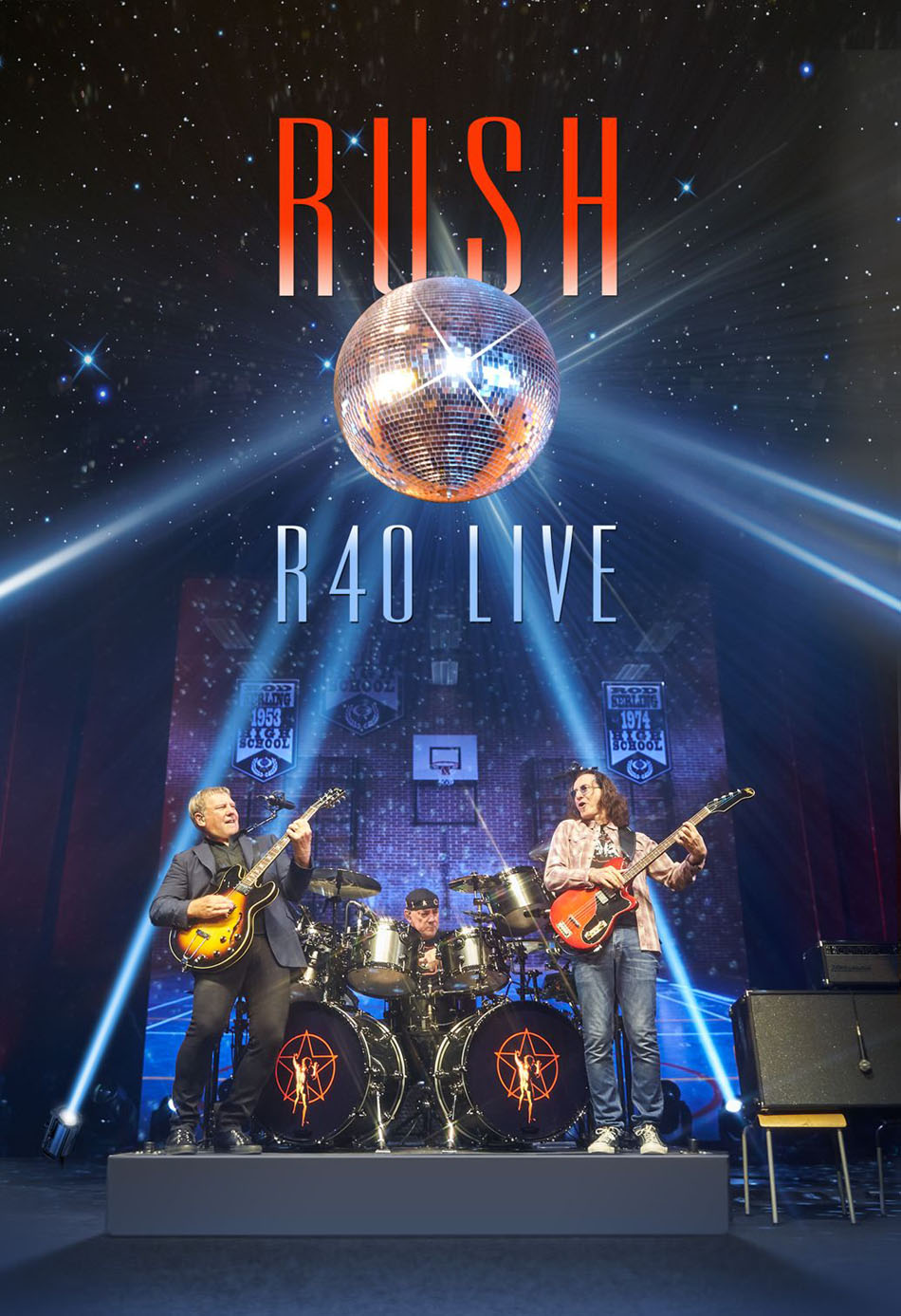 Rush's R40 Live Concert Video Certified GOLD by the RIAA