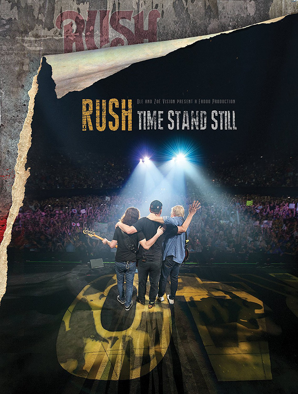Rush's Time Stand Still Documentary Certified GOLD by the RIAA